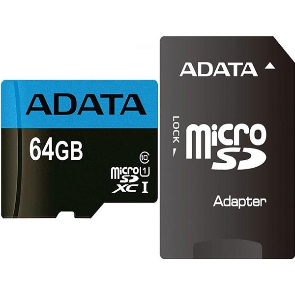 کارت حافظه ای دیتا Premier Micro UHS-I Class 10 - 64GB