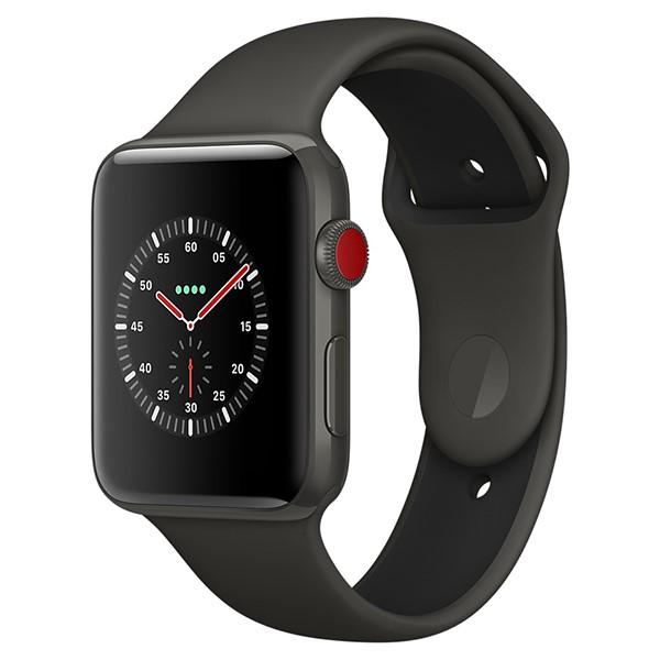 ساعت اپل Edition Gray 42mm GPS+Cell Ceramic Case with Gray/Black Sport Band