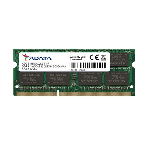 حافظه رم ای دیتا Premier DDR3 1600MHz - 2GB