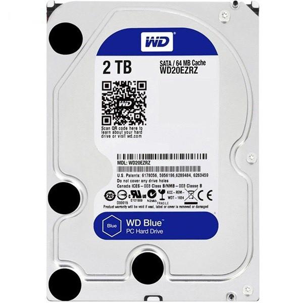 هارد دیسک اینترنال Western Digital Blue - 2TB