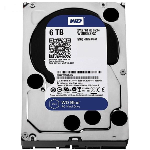 هارد دیسک اینترنال Western Digital Blue - 6TB