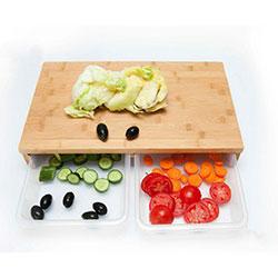 تخته گوشت و سبزیجات کشویی آچین 519