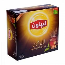 چای ارل گری کیسه ای لیپتون Earl Grey