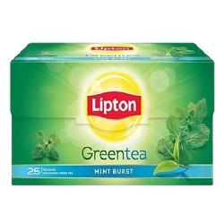 چای سبز نعنایی کیسه ای لیپتون Mint Green Tea
