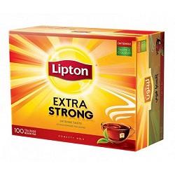 چای ممتاز قوی کیسه ای لیپتون Extra Strong