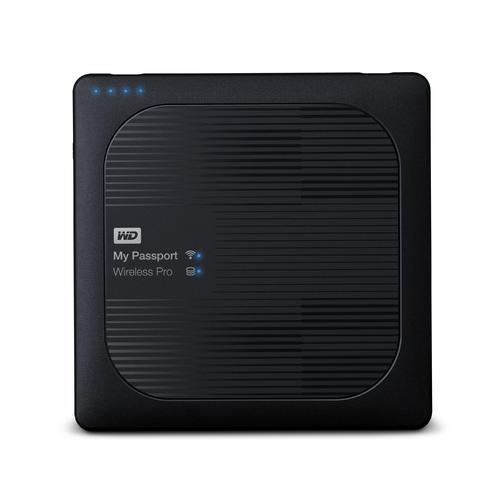 هارد دیسک اکسترنال وسترن دیجیتال My Passport Wireless PRO 3TB