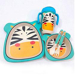 سرویس غذاخوری نوزاد بامبو میلانو  MIL-512