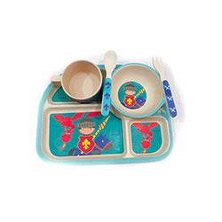 سرویس غذاخوری نوزاد بامبو میلانو  MIL-511