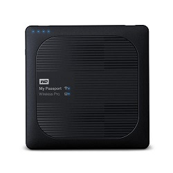 هارد دیسک اکسترنال وسترن دیجیتال My Passport Wireless PRO 2TB