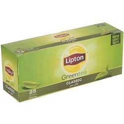چای سبز کیسه ای لیپتون Classic Green Tea