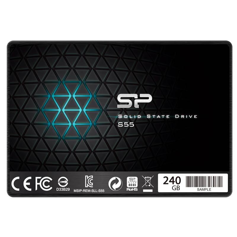 حافظه اس اس دی  داخلی سیلیکون پاور Slim S55 - 240GB
