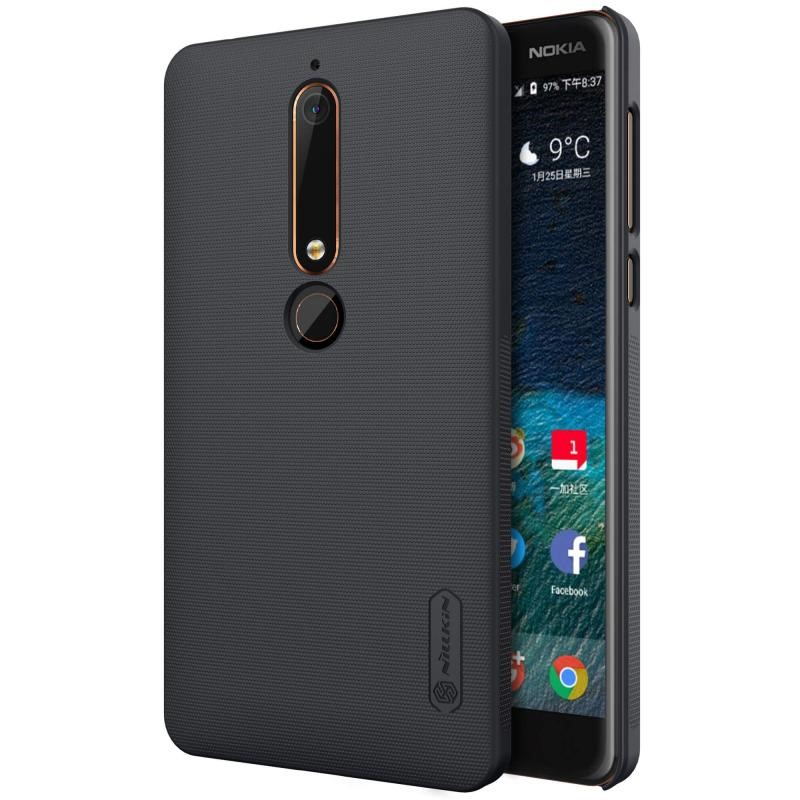 کاور نيلکين Super Frosted Shield Nokia 6 (2018)