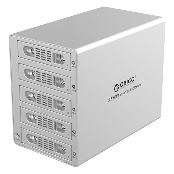باکس 5 سینی 3.5 اینچ هارد اوریکو 3559SUSJ3 5-Bay