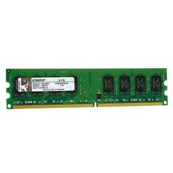 حافظه رم کینگستون KVR DDR2 800MHz - 2GB