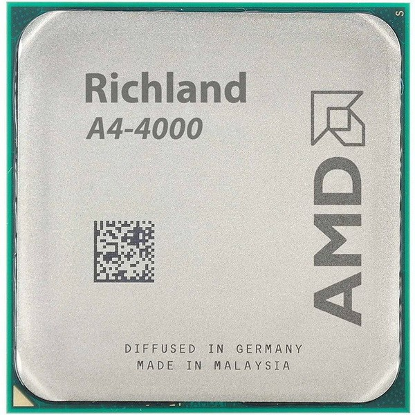 پردازنده مرکزی ای ام دی  Richland A4-4000 - 3.0GHz