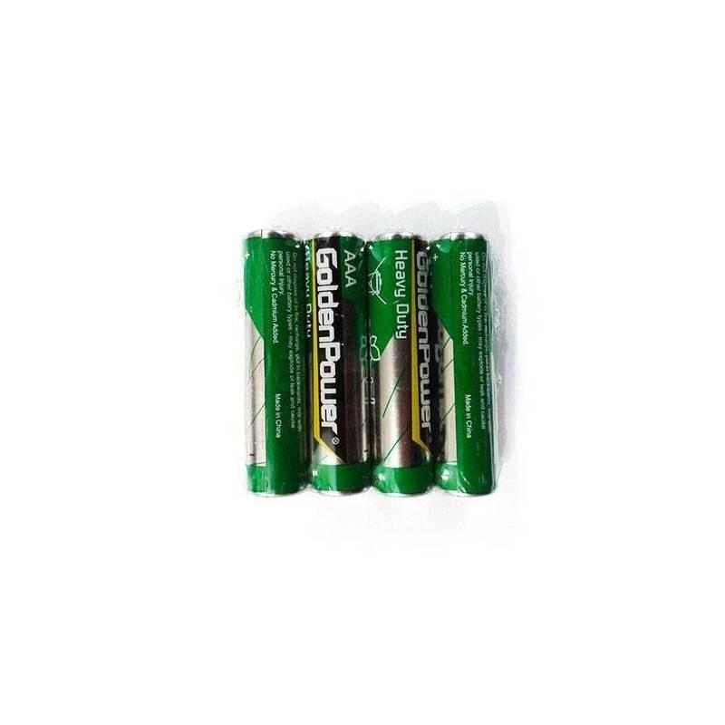 باتری نیم قلمی گلدن پاور  Heavy Duty AAA