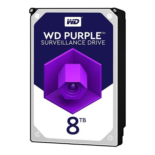 هارد دیسک اینترنال Western Digital Purple - 8TB