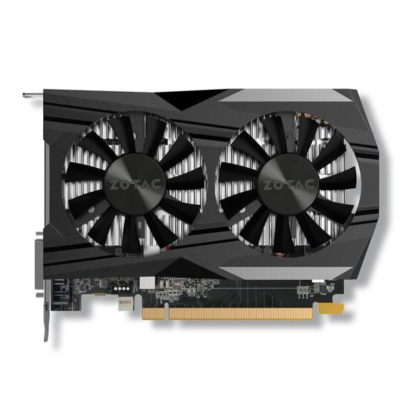 کارت گرافیک زوتک GeForce GTX 1050 4GB Ti OC