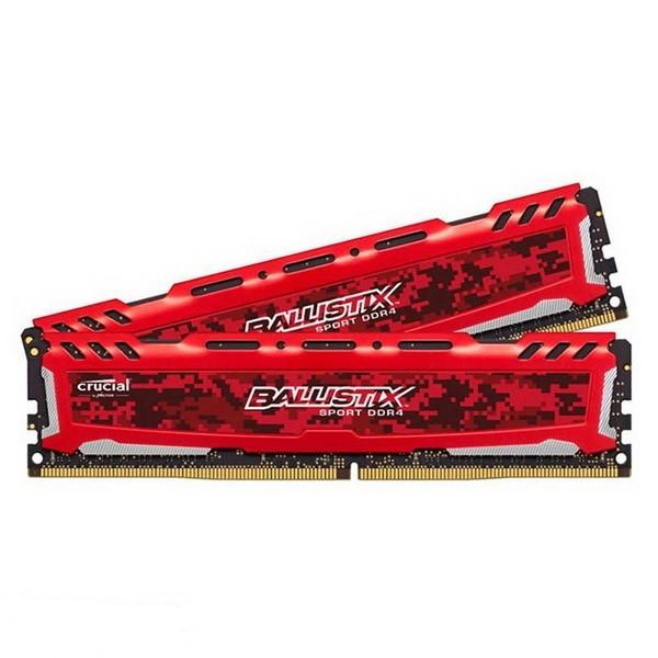 حافظه رم کامپیوتر کروشیال  Ballistix Sport LT DDR4 2400MHz CL16 - 8GB