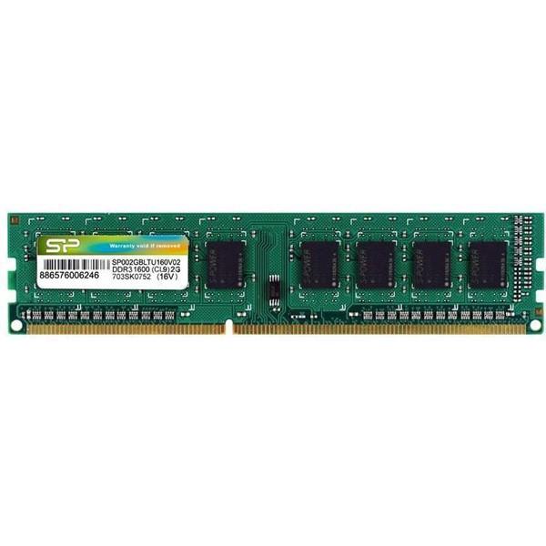 حافظه رم کامپیوتر سیلیکون پاور  DDR3 1600MHz - 4GB