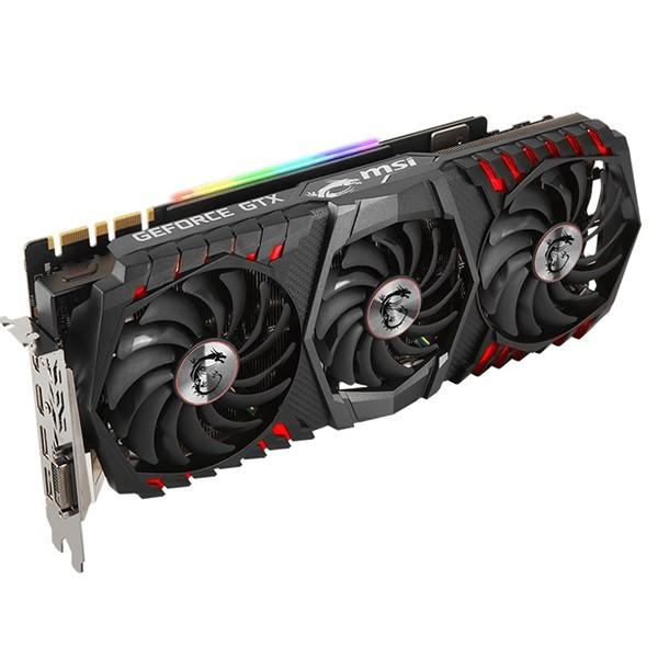 کارت گرافيک ام اس آی GeForce GTX 1080 Ti GAMING X TRIO 11G