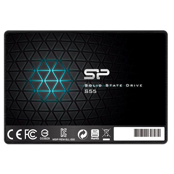 حافظه اس اس دی داخلی سیلیکون پاور Slim S55 - 480GB