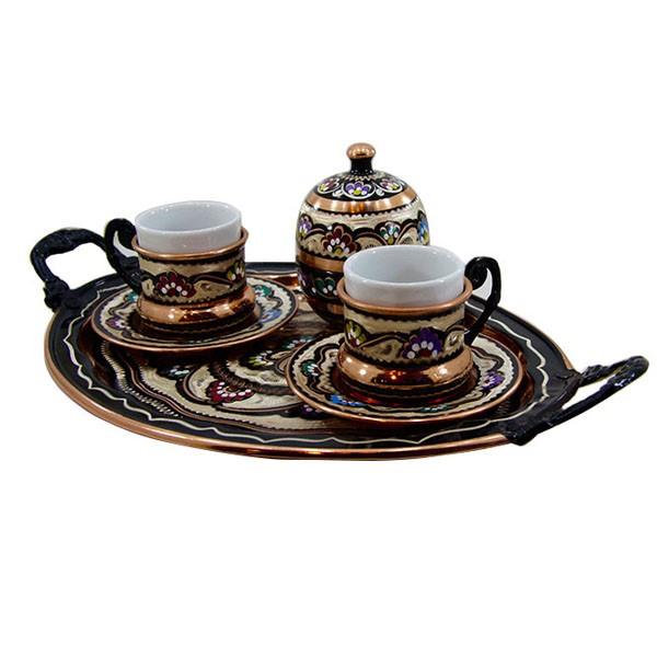 ست قهوه خوری برند اصفهان خاتم