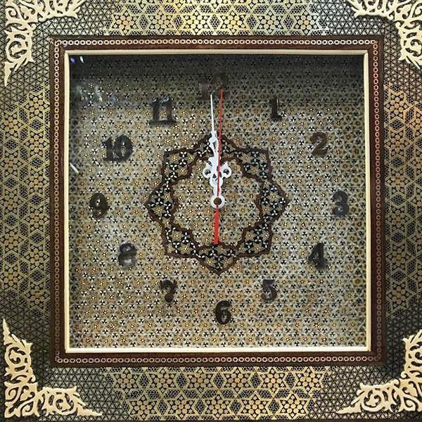 ساعت خاتم کاری سفارشی برند نقش نگار اصفهان