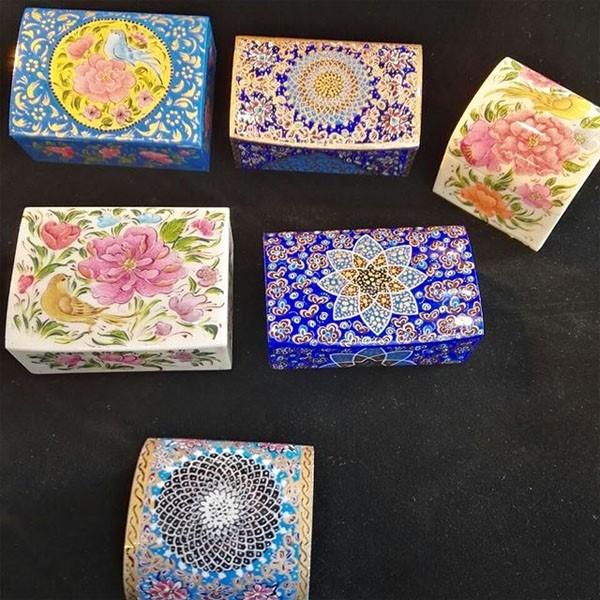 جعبه استخوان شتر برند نقش نگار اصفهان