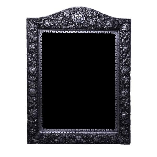 آینه نقره برجسته قلمزنی اهتمام S171010587