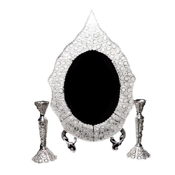 آینه و شمعدان ملیله اهتمام 72008