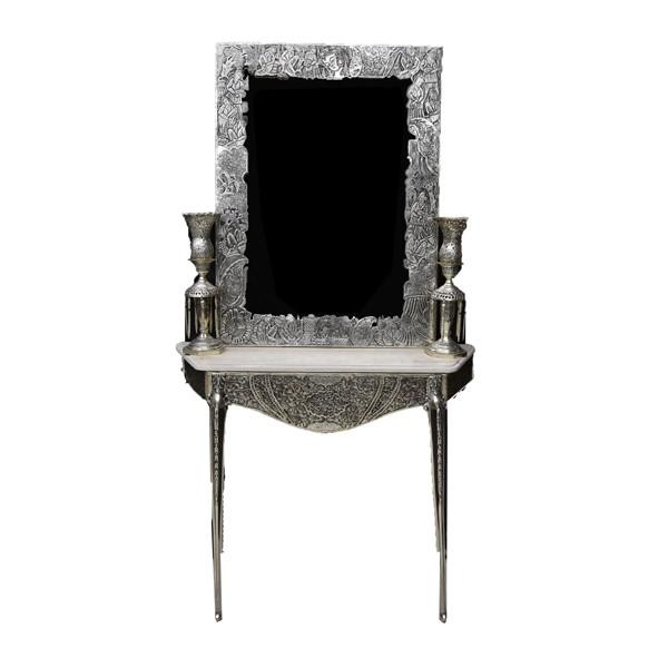 آینه و شمعدان نقره اهتمام 70105