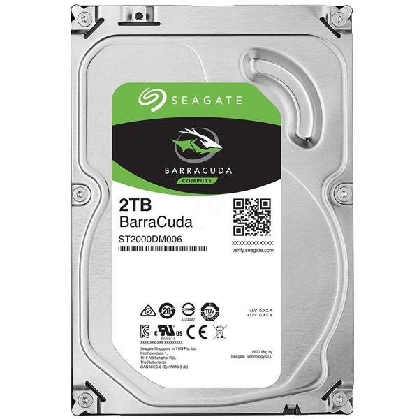 هارد دیسک اینترنال Seagate BarraCuda - 2TB