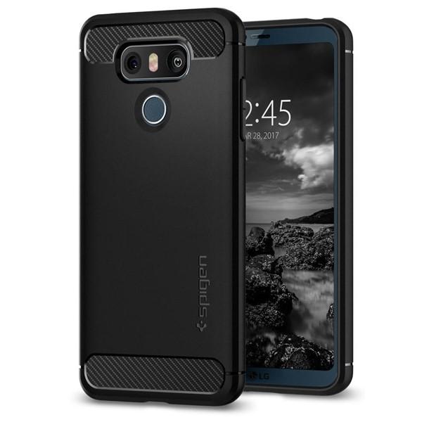کاور موبایل اسپیگن  Rugged Armor Case LG G6