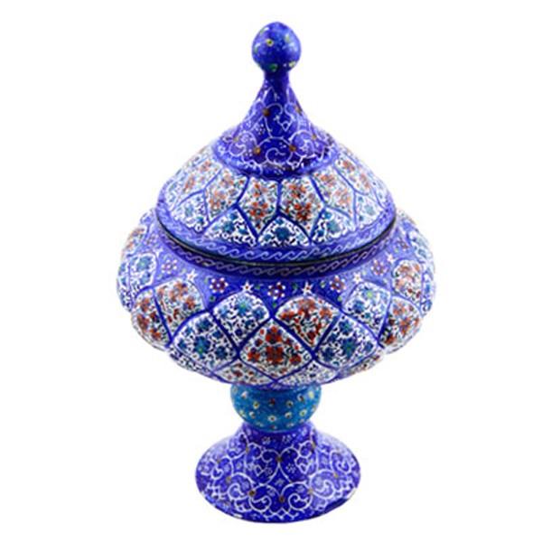 ظرف پذیرایی میناکاری برند اصفهان خاتم