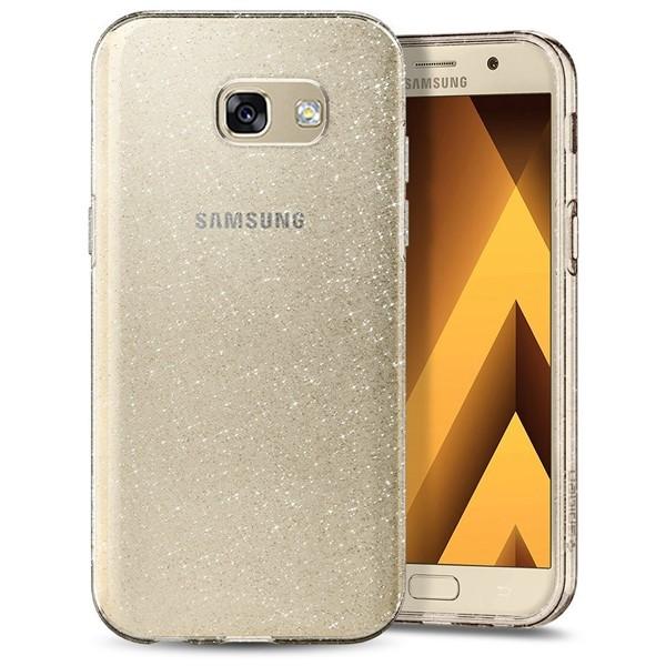 کاور موبایل اسپیگن Liquid Crystal Glitter Case Samsung A3 2017