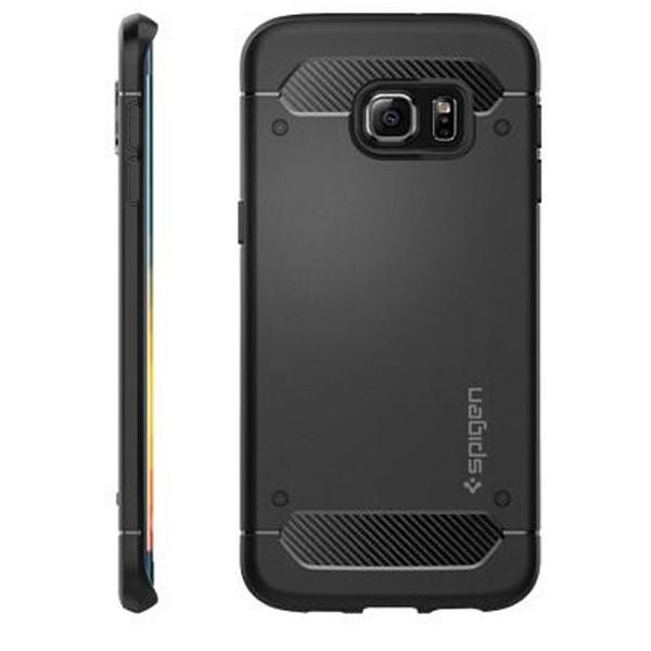 کاور موبایل اسپیگن  Rugged Capsule Case Samsung S6 Edge Plus