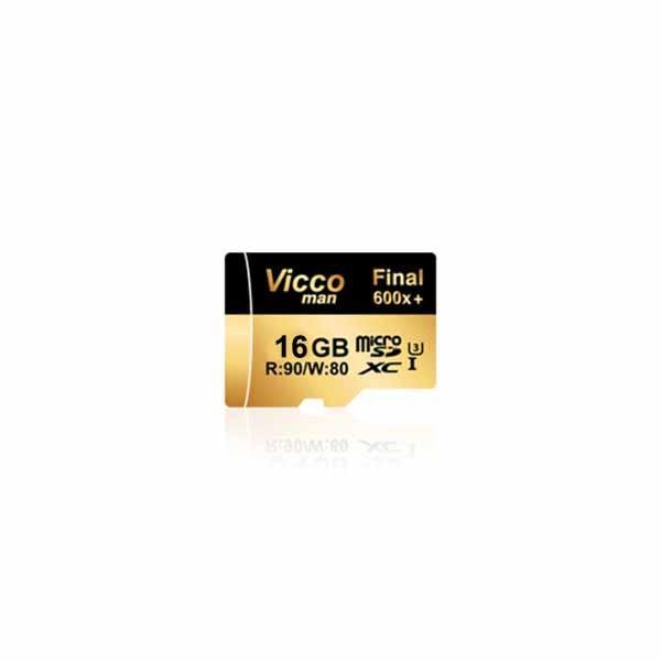 کارت حافظه ویکومن micro SD Final 600x Class 10 U3 - 16GB