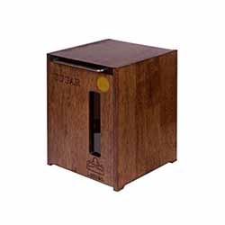 سطل قند و شکر چوبی لومن