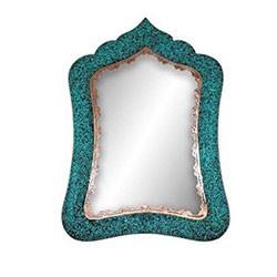 آینه مستطیل شماره 4 فیروزه کوب برند آقاجانی