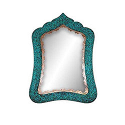 آینه مستطیل شماره 3 فیروزه کوب برند آقاجانی