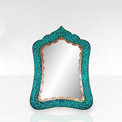 آینه مستطیل بزرگ بزرگ سایز ۴ فیروزه کوب برند نورمهر