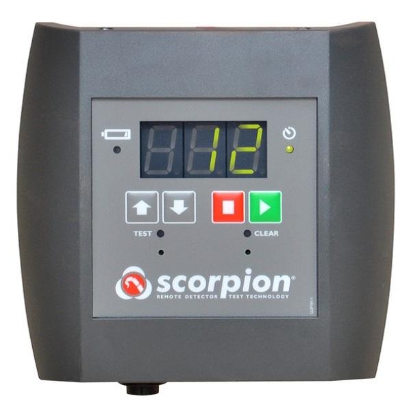 دستگاه تست از راه دور دتکتور دود دتکتور تسترز Scorpoin Point