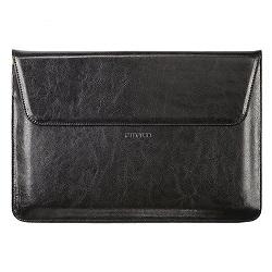 کاور لپ تاپ مارو مدل Black Leather Sleeve