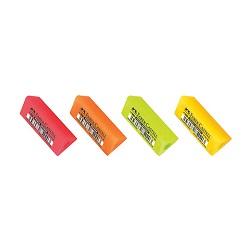 پاک کن شش ضلعی مدادی و سه ضلعی سر مدادی بسته 20 عددی فابر کاستل