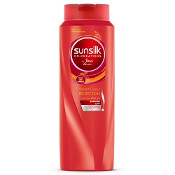 شامپو 350 میلی لیتری موهای رنگ شده سان سیلک Vibrant Color Protection