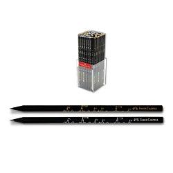 مداد سیاه بلک وود طرح قلعه جعبه پلکسی 144 عددی فابر کاستل