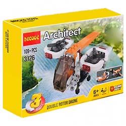 لگو پسرانه 109 تیکه دیکول 3126 Architect