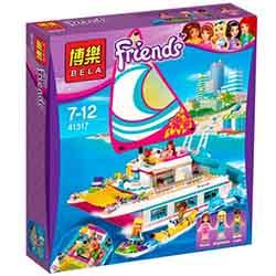 لگو دخترانه کشتی تفریحی 614 تیکه بلا 10760 Friends