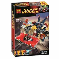 لگو پسرانه 395 تیکه بلا 10674 Super Hero